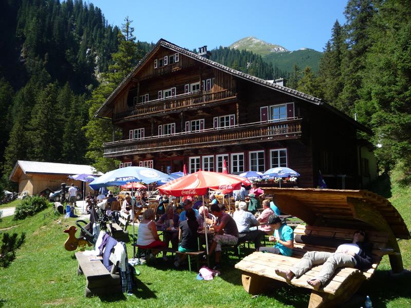 Die Berndlalm im Obersulzbachtal. Mehr Idylle geht nicht!
